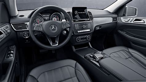 Its interior upgrades include ambient lighting, leather dashboard, special wood trim, and premium porcelain/expresso brown leather upholstery with stitched surfaces. 2019 GLS 450 Large Luxury SUV | Mercedes-Benz