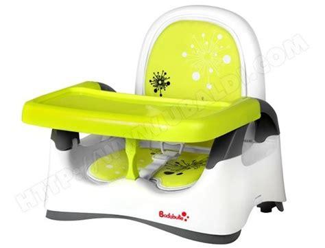 rehausseur chaise bebe rehausseur de chaise badabulle réhausseur confort vert