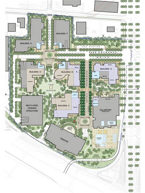 exclusive linkedin plans   office  retail promenade  mountain view development