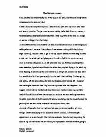 Thesis Statement Examples Essays My Childhood Memories Essay In French Quarter Essay About English Language also High School Essay Example My Childhood Memories Essay Fire And Ice Essay My Childhood Memories  Thesis For Compare And Contrast Essay
