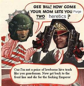 Gee Commissar 2 Heretics Gee Bill How Come Your Mom