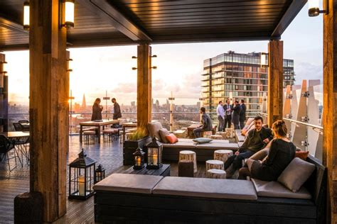 dargent  amazing rooftop bars  london travel