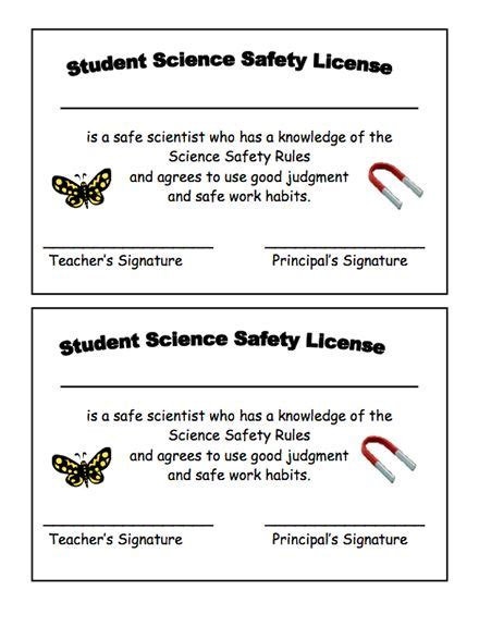 Science Safety Lesson Plans For Second Grade  2nd Grade Science Activities For Kids Education