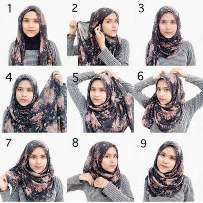 tutorial hijab segi empat terbaru tutorial hijab terbaru