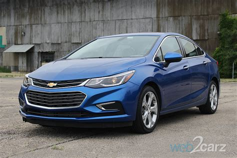chevrolet cruze premier review webcarz