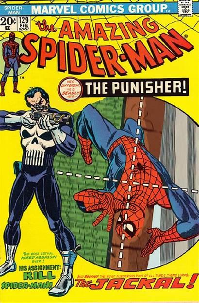 Comic Covers Comics Punisher Spiderman Marvel Animated