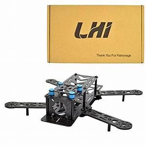 Lhi 250mm Pro Pure Carbon Fiber Quadcopter Frame Kit