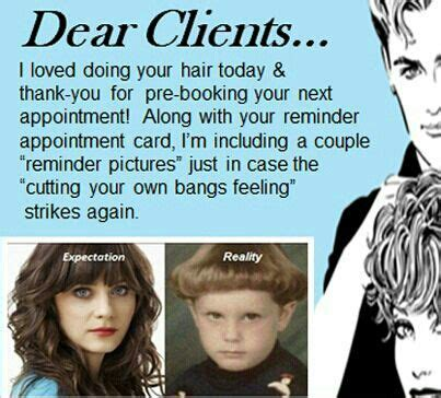 Hairstylist Memes - salon humor salons and humor on pinterest