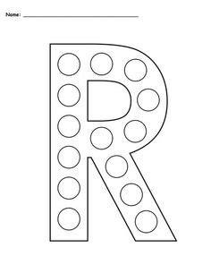 letter    dot worksheet alphabet worksheets