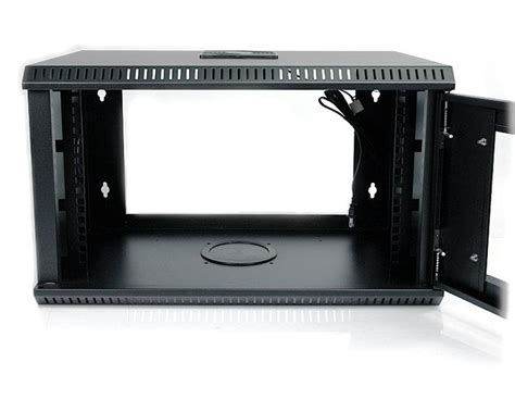 tv rack wandmontage 6u server rack wall mounted server rack with lockable door startech europe