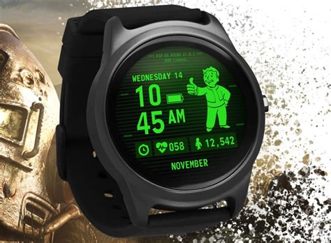 fallout gets its own pip boy themed smartwatch geekspin