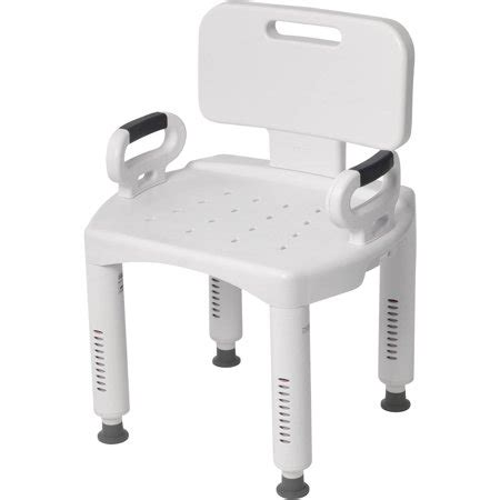 Shower Chair With Arms And Back - drive premium series shower chair with back and