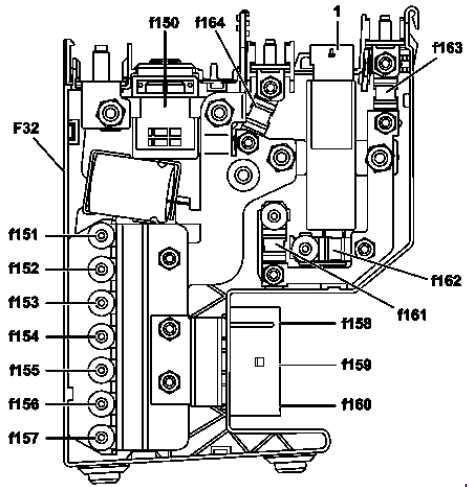 Mercedes Benz Class Fuse Box Diagram