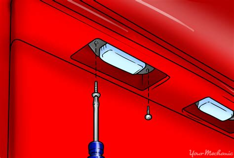 tag light bulb how to replace a license plate bulb yourmechanic advice