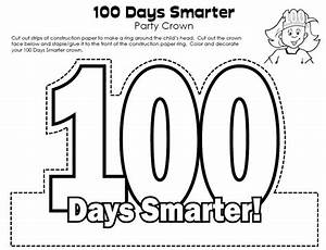 template for 100 day crowns search results calendar 2015 With 100th day of school crown template