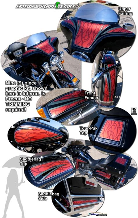 Davidson Vinyl Graphics by Harley Davidson Electra Glide Classic Airbrush