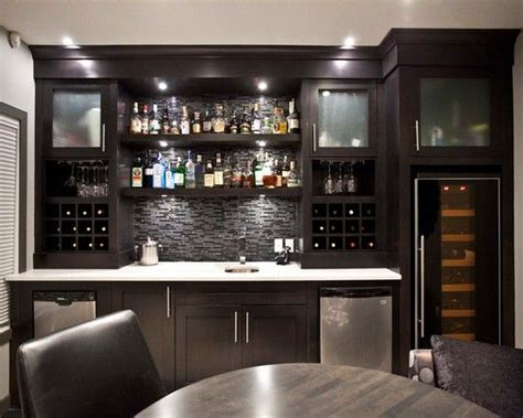 Basement Bar Cabinet Ideas by 25 Best Ideas About Contemporary Bar On