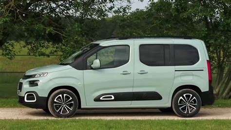 2019 Citroen Berlingo Exterior Interior And Driving Youtube