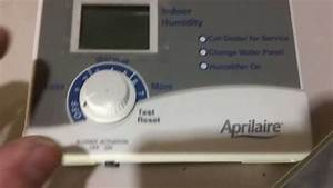 Aprilaire 700 Humidifier Installation - Part 1