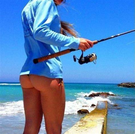 fishing cute line babes fish ladies surf bikinis fishin summer key hunting cold