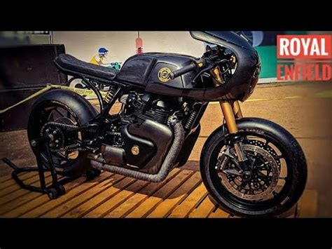Modification Royal Enfield Continental Gt 650 by Royal Enfield Continental Gt 650 Modified Racing Bike Gt