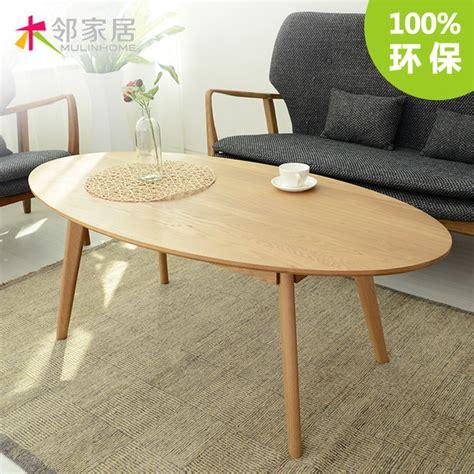 table basse ovale bois o nordic minimaliste blanc bois de ch 234 ne table basse en bois table basse ikea ovale japonais
