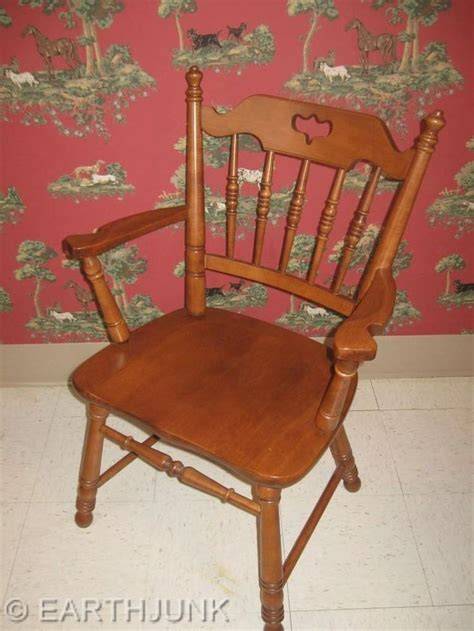 tell city arm chair 8049 rock andover maple early