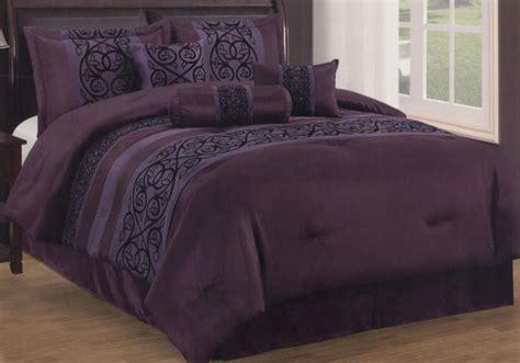 7 Pieces King Size Contemporary Floral Comforter Set