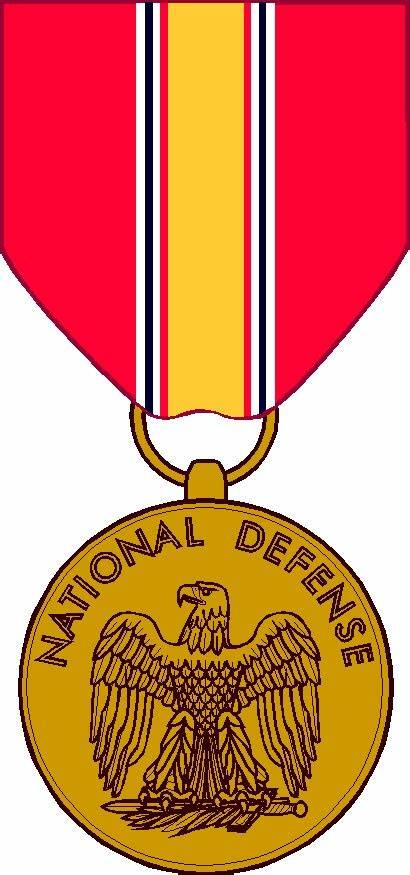 Defense National Medal Service Clipart Clip Patches