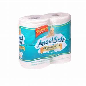 angel soft bathroom tissue 4 double rolls union With softest bathroom tissue