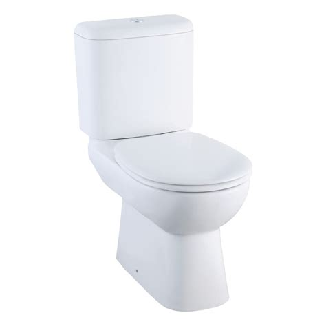 White Bathroom Accessories by Johnson Suisse Close Coupled Wcs