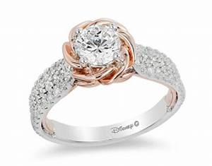 these disney inspired wedding rings are a bride39s dream With beauty and the beast inspired wedding rings