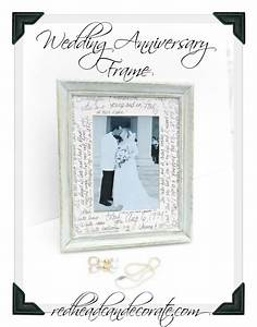 wedding anniversary frame redhead can decorate With wedding anniversary photo frames