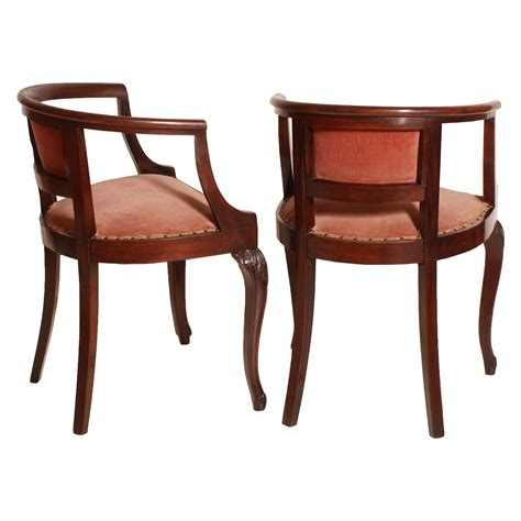 sedie liberty antique liberty pair of chairs poltroncine coppia sedie
