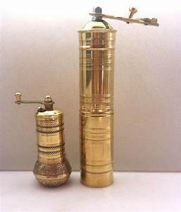 Turkish Coffee Grinder Manual Brass Montreal