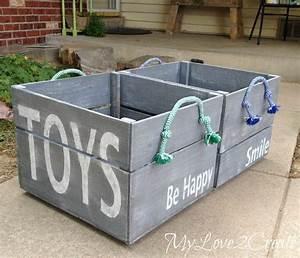 Diy storage crates for Job lot dog crate