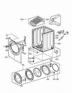 Cabinet And Door Assembly Diagram  U0026 Parts List For Model