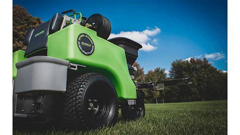 steel green  turn sprayer spreaders lawn landscape