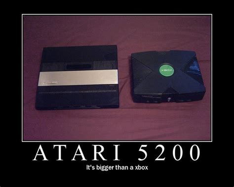 Id Say The Atari 5200 Is Also Better Than An Xbox
