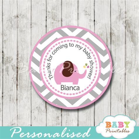 Now all you have to do is celebrating baby elephant baby shower games free printable for girls. Pink Elephant Baby Shower Favor Tags - D106 - Baby Printables