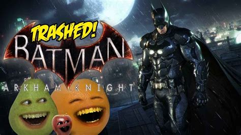 ao gaming batman arkham knight trailer trashed youtube
