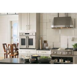 ge monogram french door wall oven model zetfhss kitchen appliance trends kitchen large