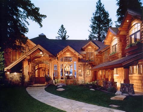 lakefront mountain home mountain architects hendricks
