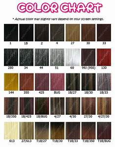 Wig Color Chart Numbers Outre Batik Jerry Curl Weaving Track Extension 16 Quot Ebay