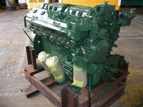 Boat Engine Definition by In Framed Detroit Diesel 12v71 Na 350hp Diesel Marine