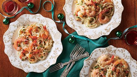 If you're thinking about serving seafood at your christmas dinner, this is for you. Creamy Shrimp Piccata - Elegant Holiday Entrée Recipes ...