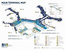 Vancouver Airport Main Terminal Map