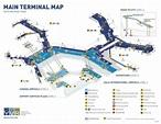 Vancouver Airport Main Terminal Map
