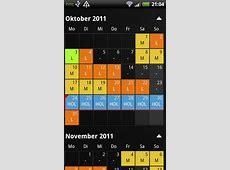 calendario dei turni di lavoro Amazonit Appstore per