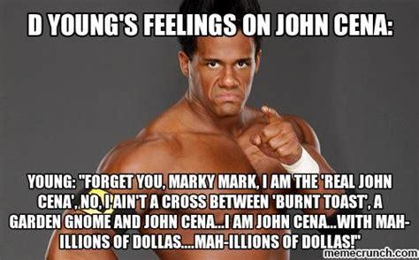 Meme Cena - d young s feelings on john cena